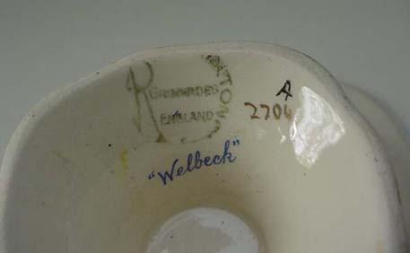 RWC: Royal Winton Vintage Welbeck Comport