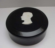 Bakelite Commemorative Black Box Edward VIII