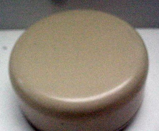 Bakelite Powder Box with Cameo Image