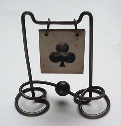 Victorian wire trump marker