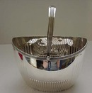 Sterling Georgian Sugar Basket