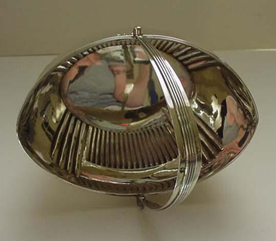 Sterling Georgian Sugar Basket