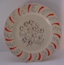 Dame Laura Knight's Ballerina Plate