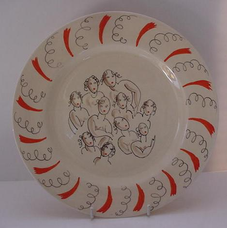 Dame Laura Knight's Ballerina Plate