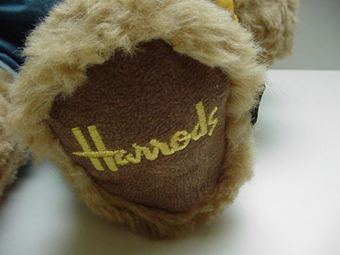 Harrods School Boy Teddy Bear