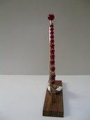 Bakelite and Wood Deco Cherry Bar Picks