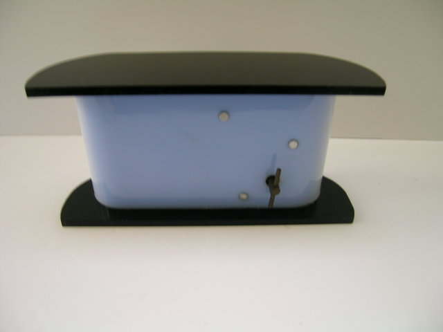 Bakelite and lucite Music Box Trinket Box