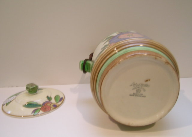 Keeling & Co.English  Losol Ware Deco Biscuit