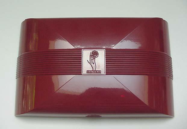 Bakelite  Vintage Box- Cutex Manicure Set
