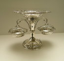 Sterling Silver Epergne: London 1906