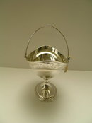 Sterling Silver Antique Dublin Basket