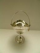 Sterling Silver Antique Dublin Basket