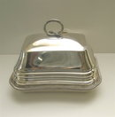 English Old Sheffield Silverplate Covered