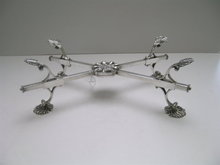 Old Sheffield Silverplate Trivet