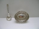 Sterling Silver Victorian Oval Bowl with Spoon