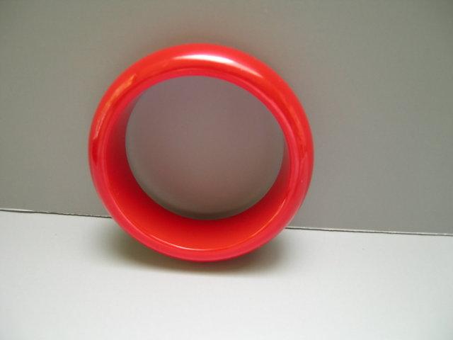 Bakelite Vintage Chunky Red Bangle