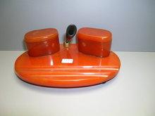 Bakelite Vintage Inkwell Set