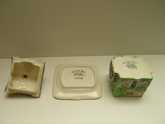 Royal Winton Cottageware Olde Mill 3 Piece Jam