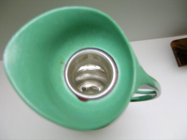 Bakelite Vintage Green Deco Thermos