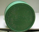 Bakelite Vintage Green Deco Thermos