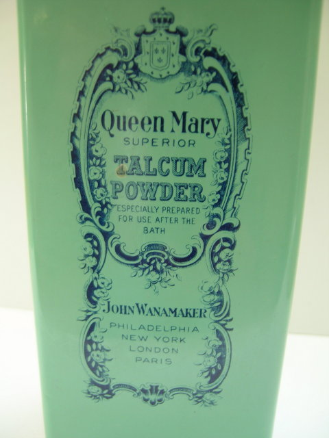 Queen Mary Talcum Powder:John Wanamaker