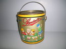 Satin Sanders Candies Tin