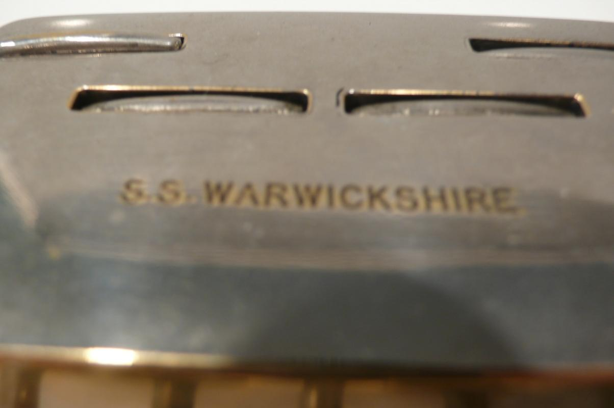 SS Warwickshire Trump Marker