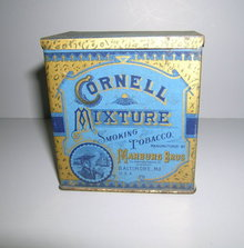 Cornell Mixture Smoking Tobacco Tin