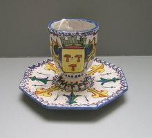 Quimper CA Egg Cup