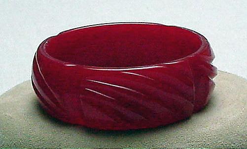 Bakelite Red Bangle