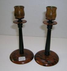 Bakelite/Celluloid Vintage Candlesticks