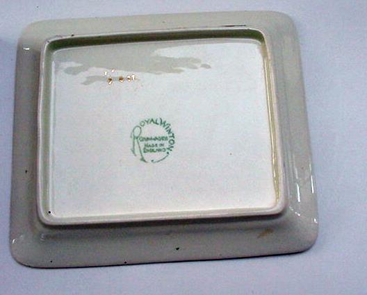 RWC Royal Winton Vintage Welbeck Cheese Dish
