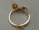 Victorian 18Ct Gold and Diamond Snake Ring
