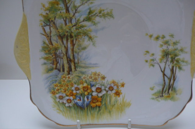 Shelley Daffodil Cakeplate