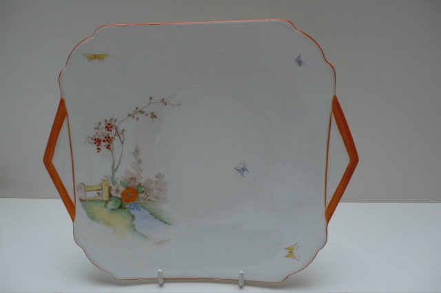 Shelley Bone China Cake Plate