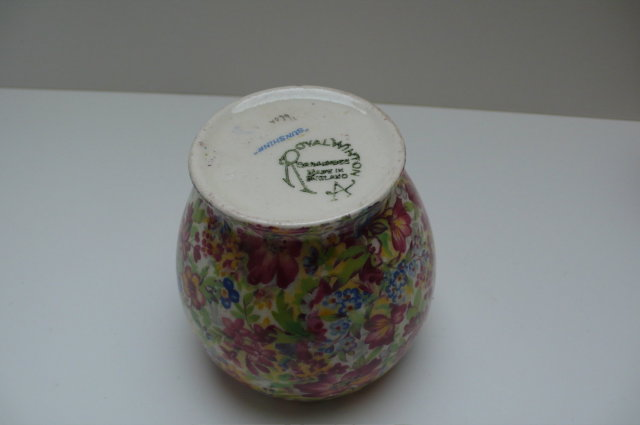 Royal Winton Cottageware Sunshine Jam