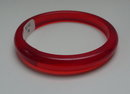 Bakelite Vintage cherry red bangle