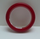 Bakelite Vintage Red Chunky Bangle