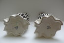 Beswick Pair of Zebra Stripe Vases
