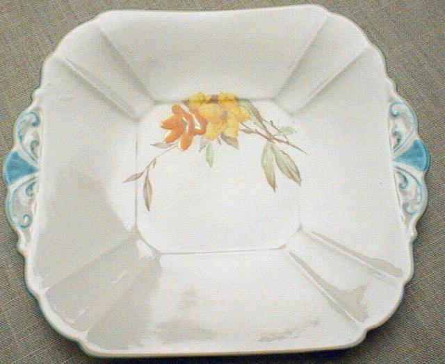 Shelley Cake Plate or Sandwich Plate