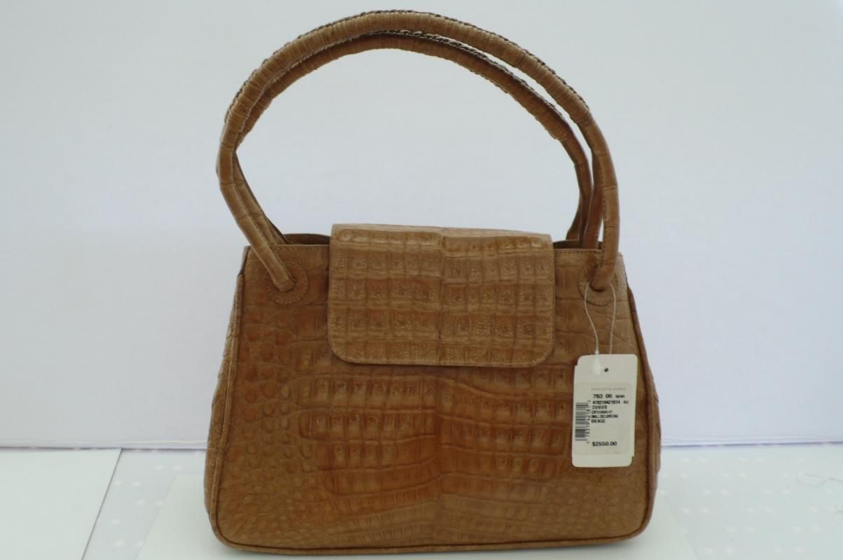 Nancy Gonzalez Crocodile Handbag