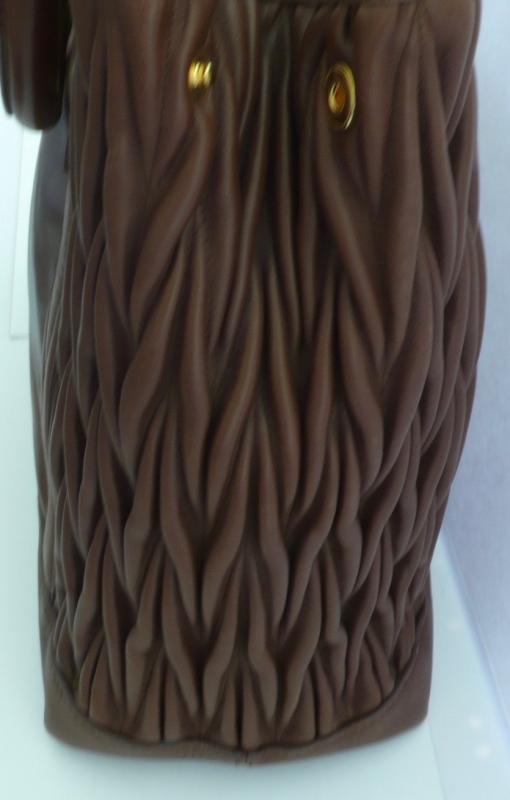 Beautiful Brown Leather Miu Miu Tote