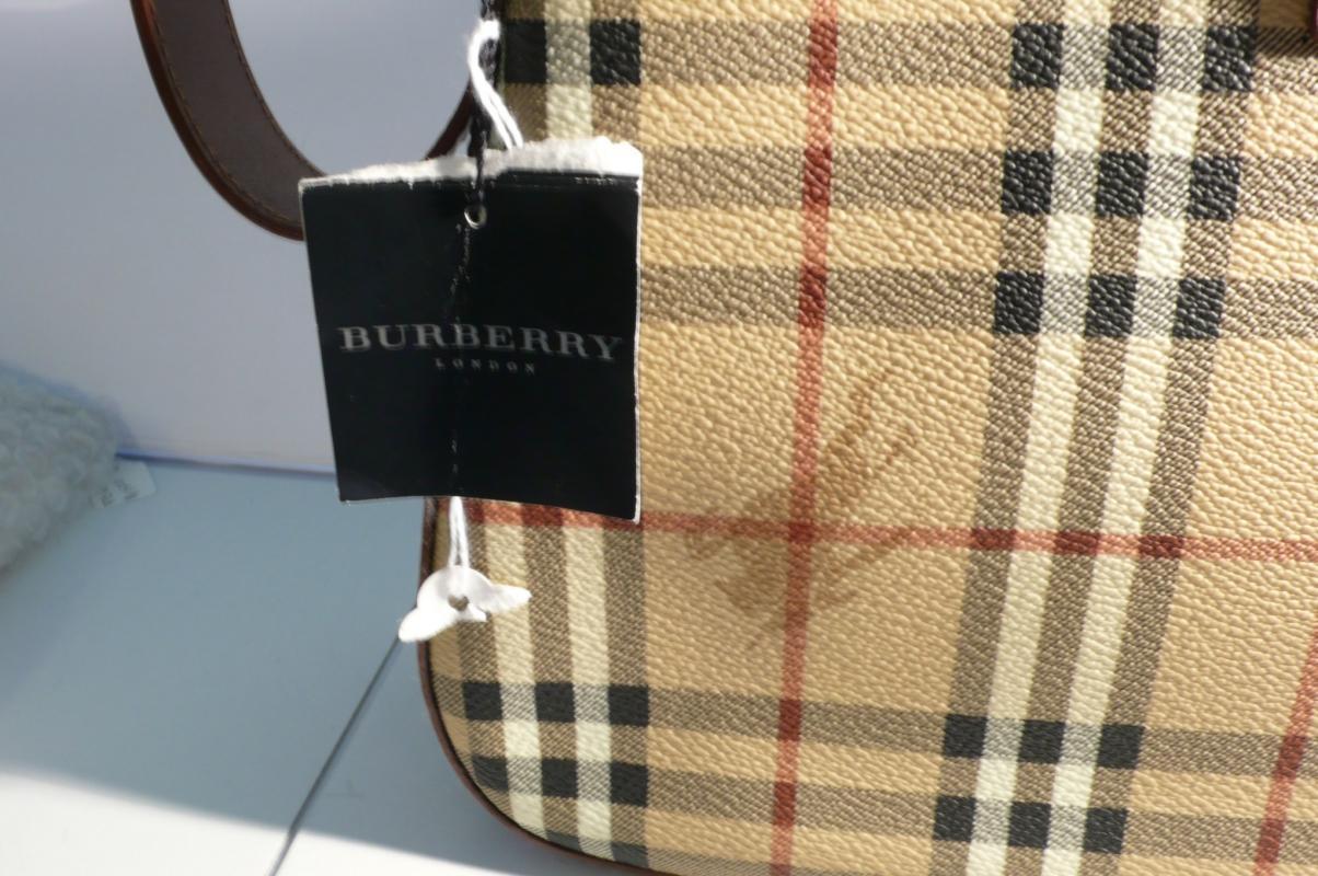 Burberry Pattern Shoulder Bag