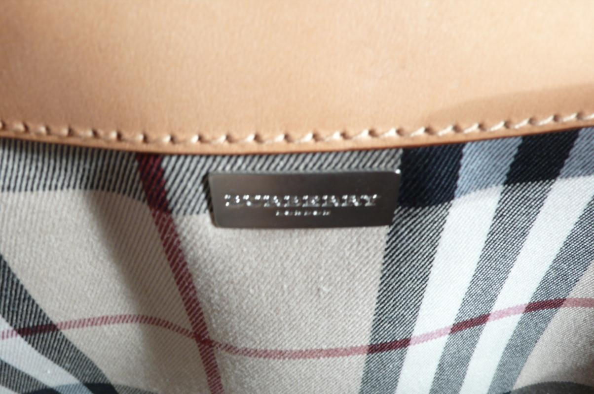 Burberry Fabric Tote Bag