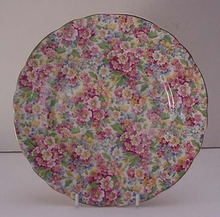James Kent Chintz Apple Blossom Plate