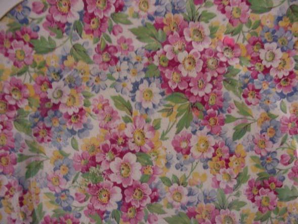 James Kent Chintz Apple Blossom Plate