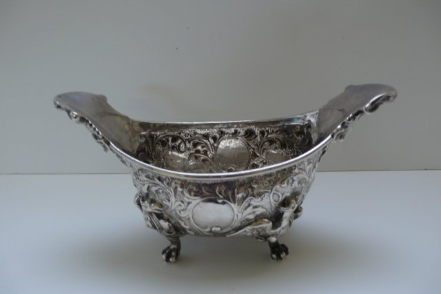 Sterling Silver Georgian Sauce Boat