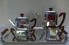 WMF Silver Plate & Bakelite Coffee/Tea Set &