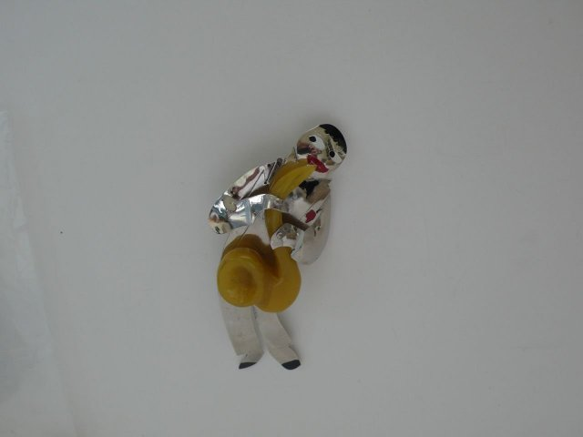 Butler & Wilson Deco Saxophone Player