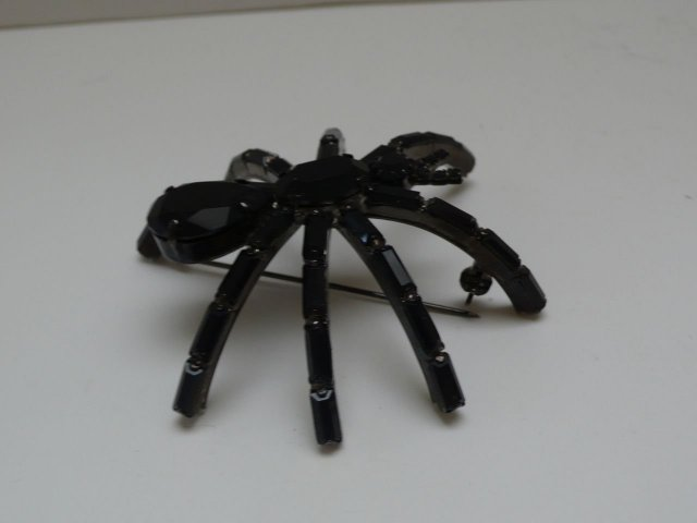 Butler and Wilson Small Spider Brooch